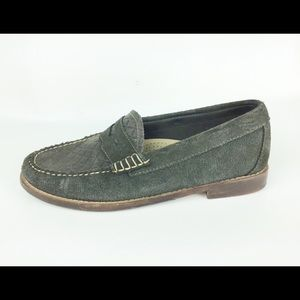 🔥50% OFF🔥 BASS WEEJUNS OLIVE GREEN LOAFERS